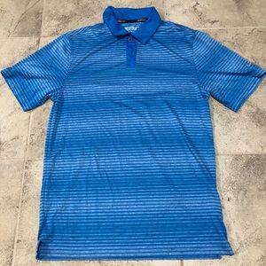 Nike Golf Performance Polo Blur Striped Size Small